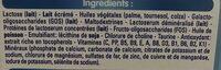 Gallia Calisma Lait En Poudre - Croissance 700G - Ingrédients - fr