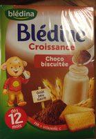 Bledine croissance choco biscuite - Prodotto - fr