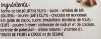 Mon 1er Petit Beurre - Ingredients - fr