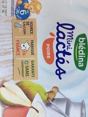 Desserts bébé de 6 à 36 mois poire Blédina - Product