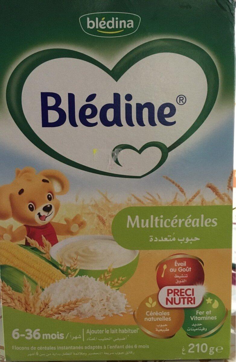Blédine multicéréales - Prodotto - en