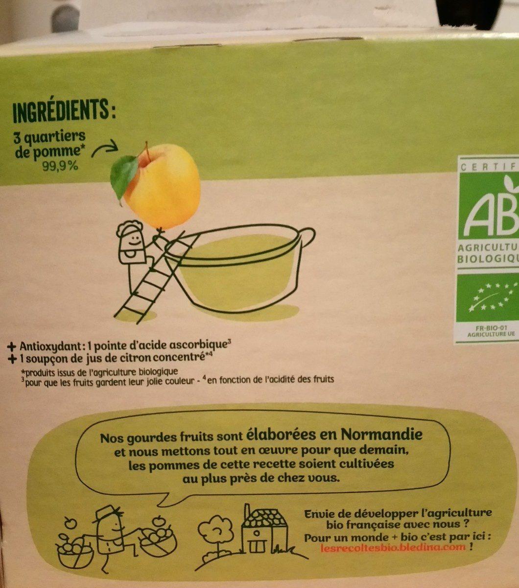 Pommes - Ingrédients - fr