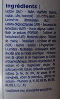 Gallia 2ème age - Ingredients - fr