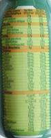 Blédilait Croissance - Nutrition facts - fr