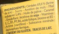 Bledina Phosphatine Cereales Pour Bebes Miel - Ingrédients - fr