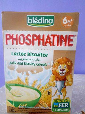 PHOSPHATINE Lactée Biscuitée - Produit - fr