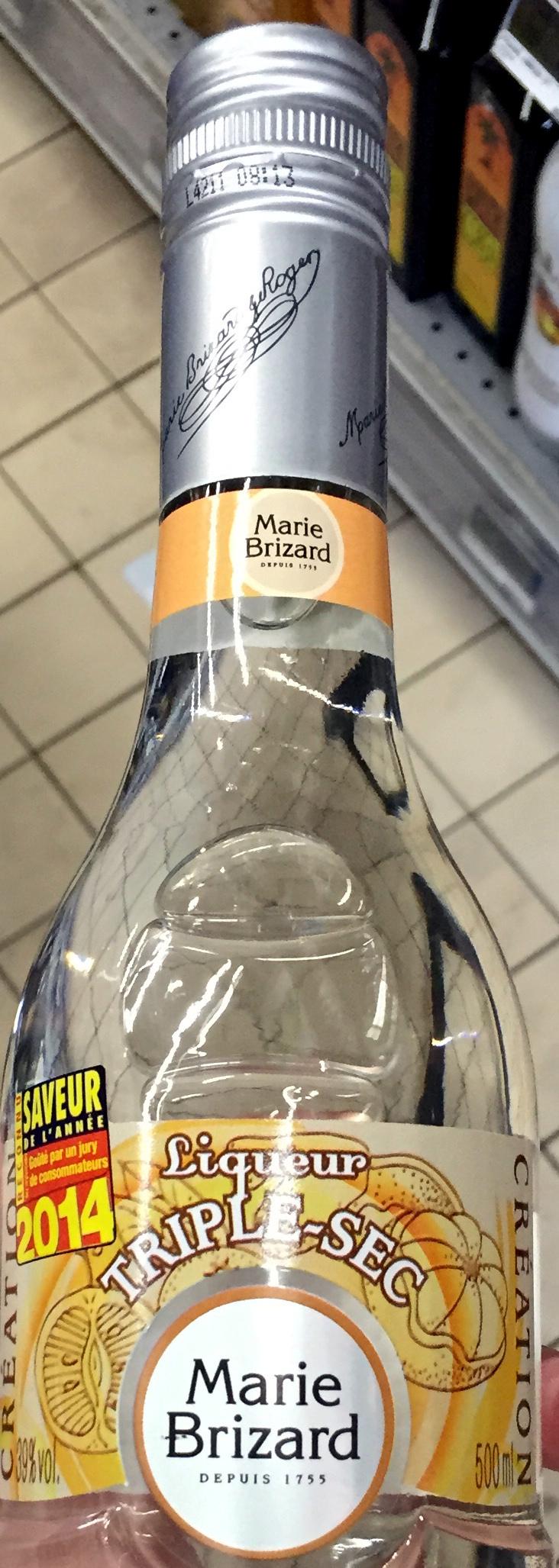Liqueur Triple-Sec - Product - fr