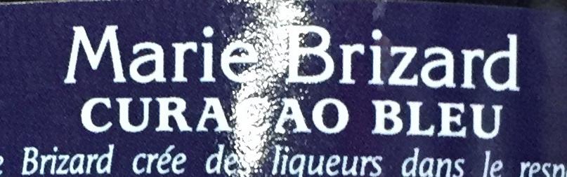 Liqueur Curaçao bleu - Ingredients - fr