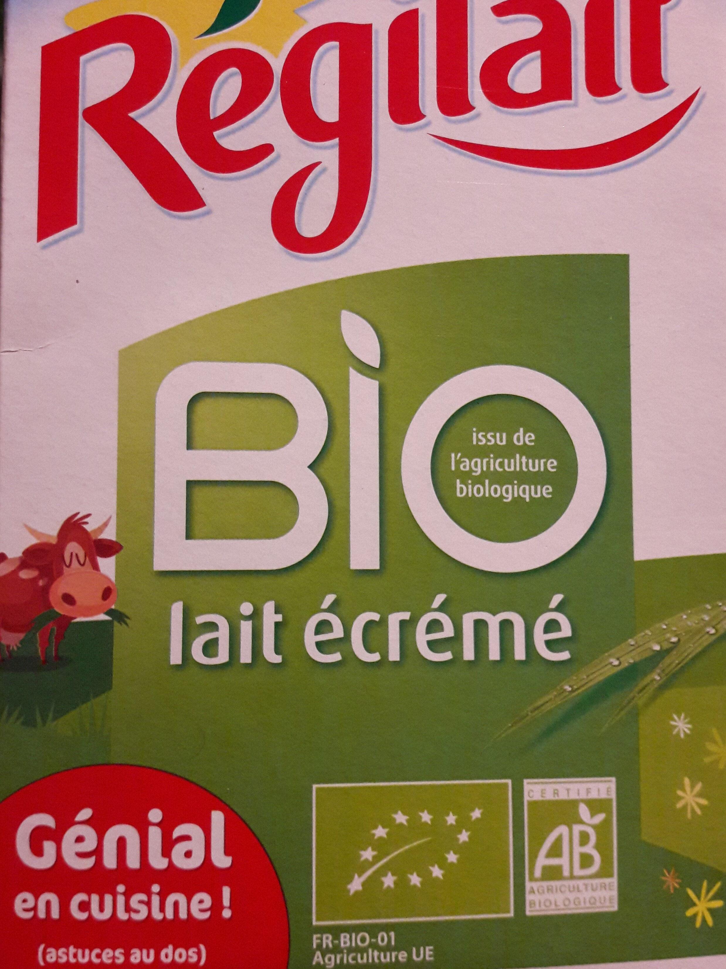 Lait écrémé en poudre Bio - Produit - fr
