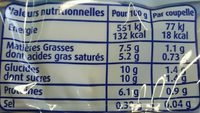 Maxi Nuage de Lait - Nutrition facts