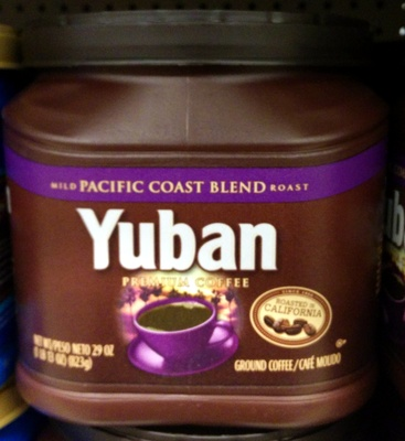 Yuban Pacific Coast Blend - Product - en