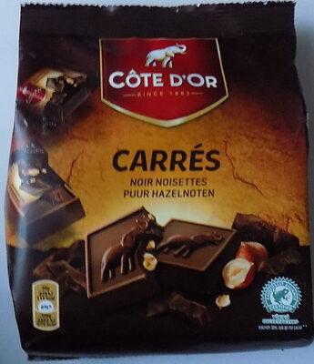 Carrés Noir Noisette - Product - fr