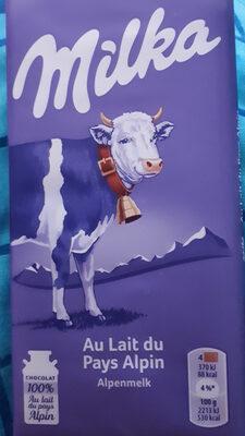 Chocolat au Lait du Pays Alpin - Producte