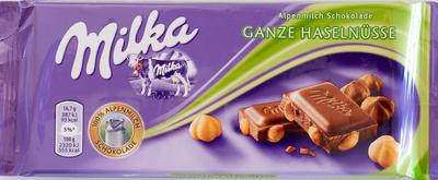 Milka Ganze Nuss - Produkt - de