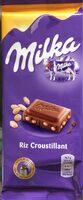 Chocolat Milka / Riz croustillant - نتاج - fr