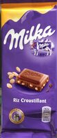 Chocolat Milka / Riz croustillant - Product - nl