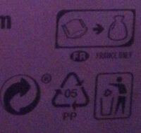 Chocolat Milka / Riz croustillant - Recycling instructions and/or packaging information - fr