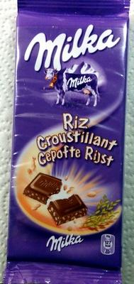 Milka Riz Croustillant - Produit
