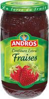 confiture fraises - Produit - fr