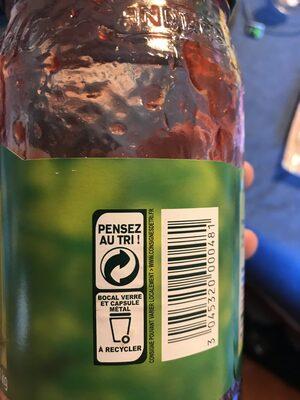 confiture fraises - Instruction de recyclage et/ou informations d'emballage - fr