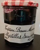 Confiture Bonne Maman Myrtilles Sauvages - Product
