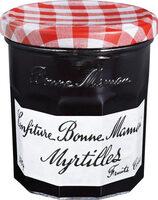 confiture myrtilles - Prodotto - fr