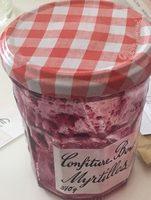 Confiture Bonne Maman Myrtilles Sauvages - Ingredients
