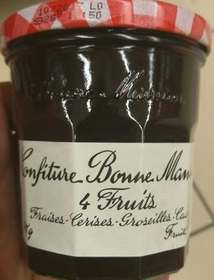 Confiture quatre fruits - Product