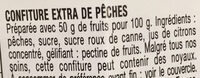 Pêches - Confiture extra - Ingredienti - fr