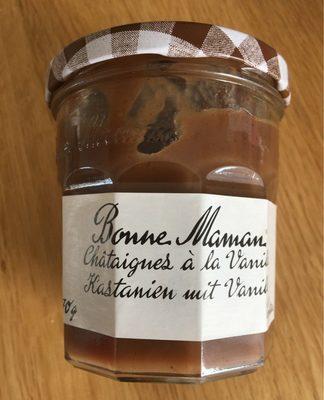 Châtaigne à la vanille - Prodotto - en