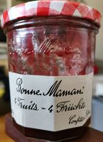 Confiture 4 Fruits - Product