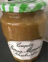 Compotée Bonne Maman Rhubarbe - Product