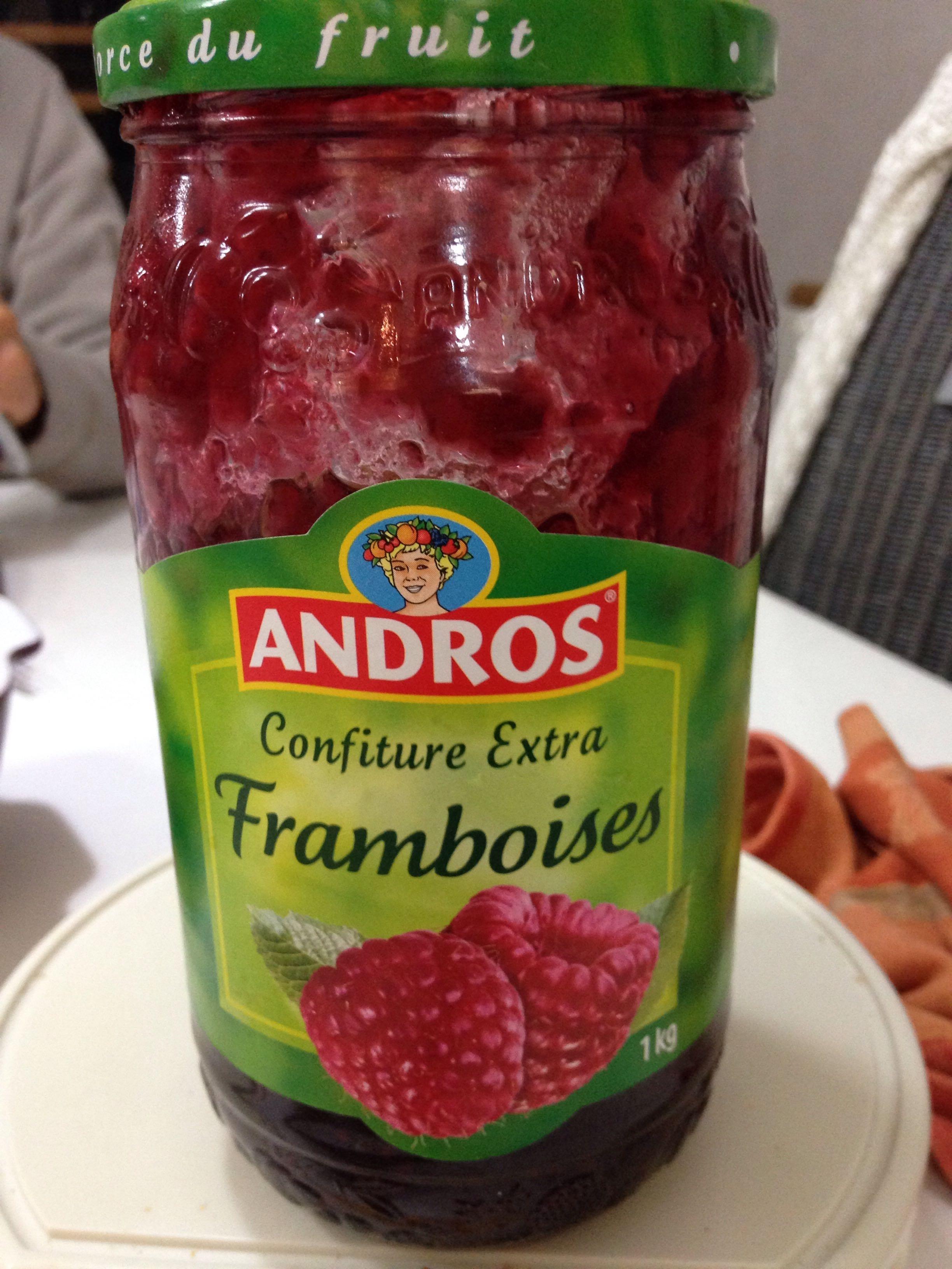 Confiture Extra Framboises - Prodotto - fr