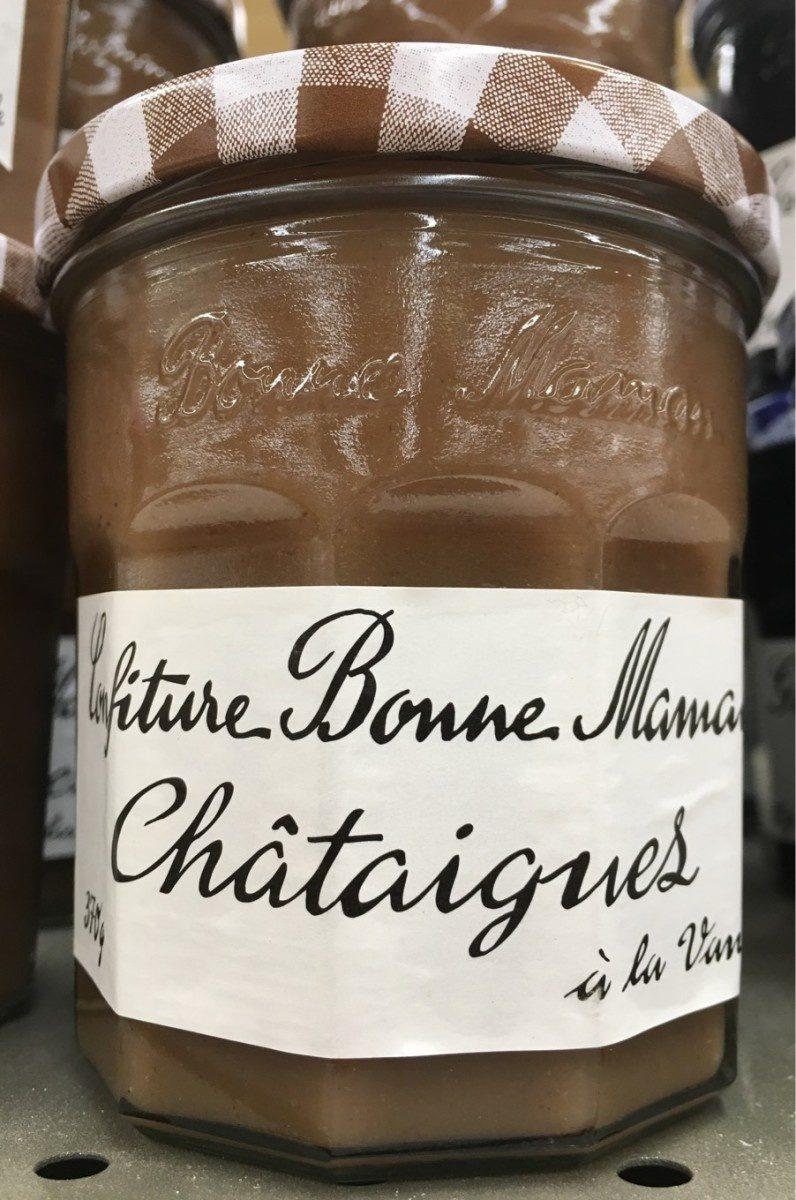 Confiture de Châtaignes à la vanille - Product - fr