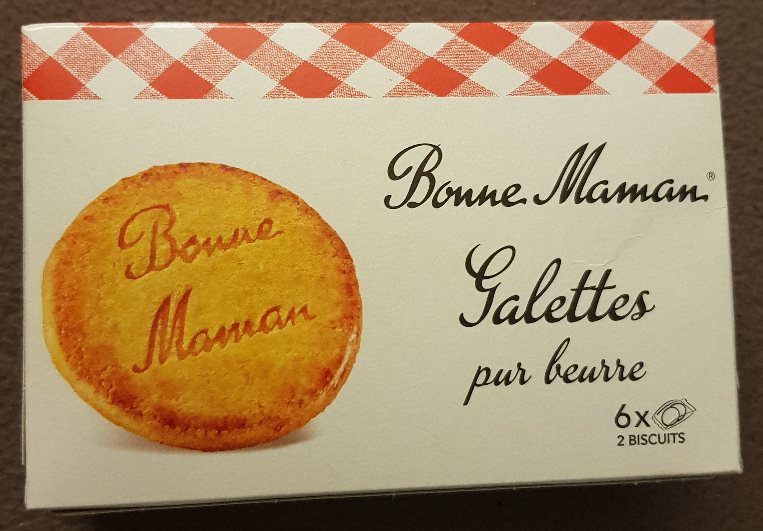 Galettes pur beurre - Produkt - fr