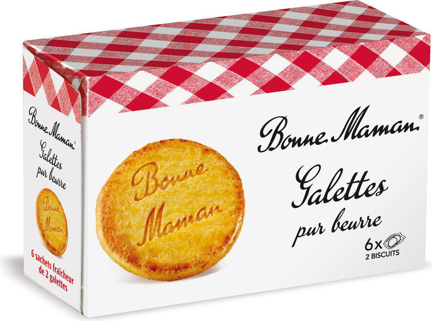 Galettes pur beurre - Product - fr