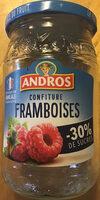 Confiture allégée de Framboises - Product