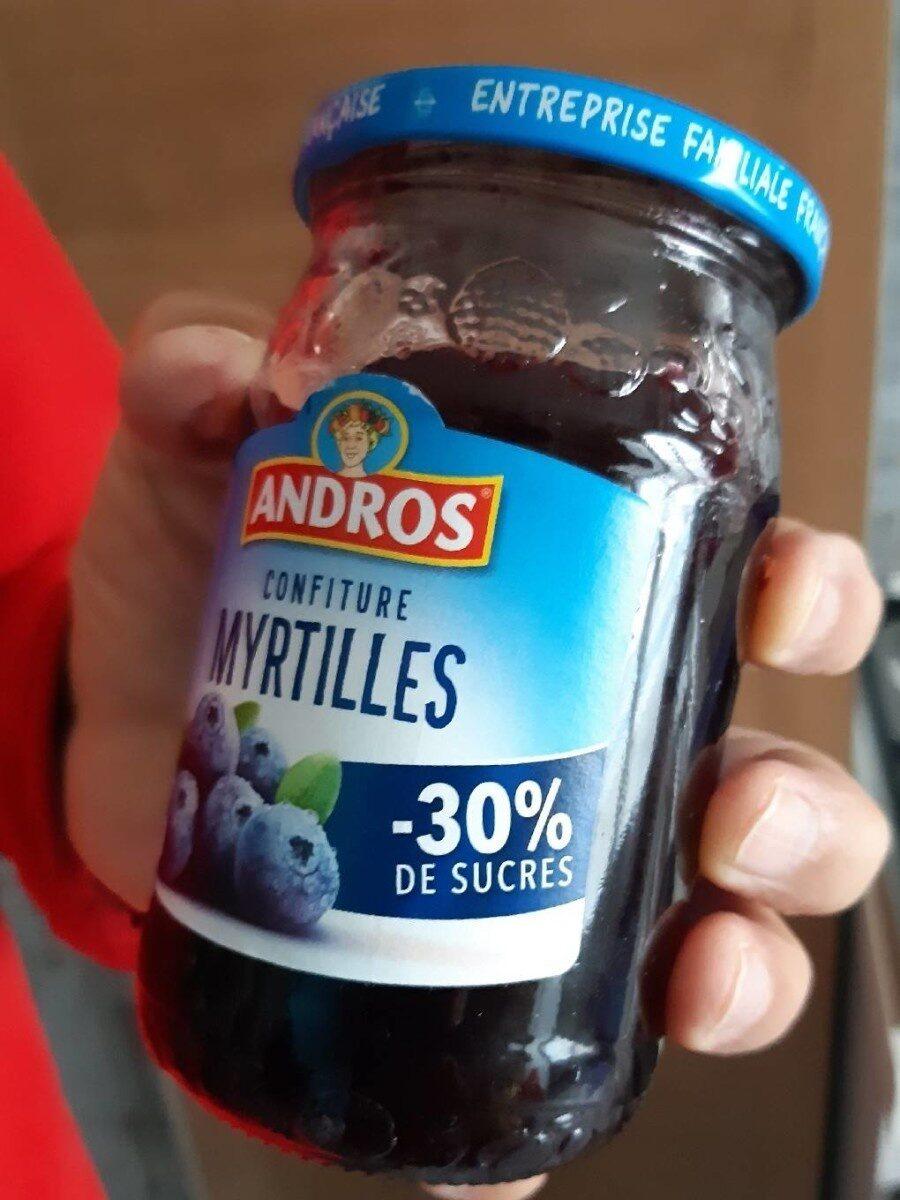 Confiture myrtilles - Produit - fr