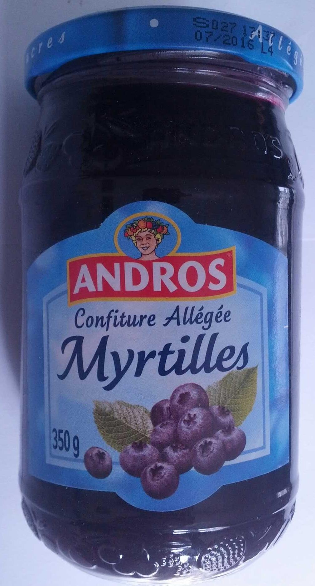 Confiture allégée Myrtilles - Product