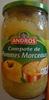 Compote de Pommes Nature Morceaux - Product