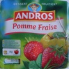 Dessert Fruitier® Pomme Fraise (4 pots) 400 g - Andros - Product