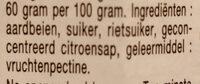 Confiture Bonne Maman - Ingredienti - nl
