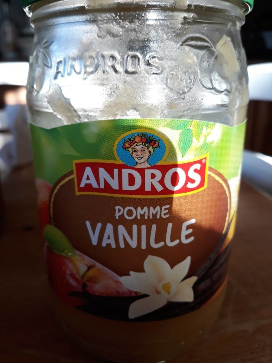 compote pomme vanille - Prodotto - fr