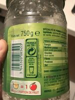Pomme vanille - Recycling instructions and/or packaging information - fr