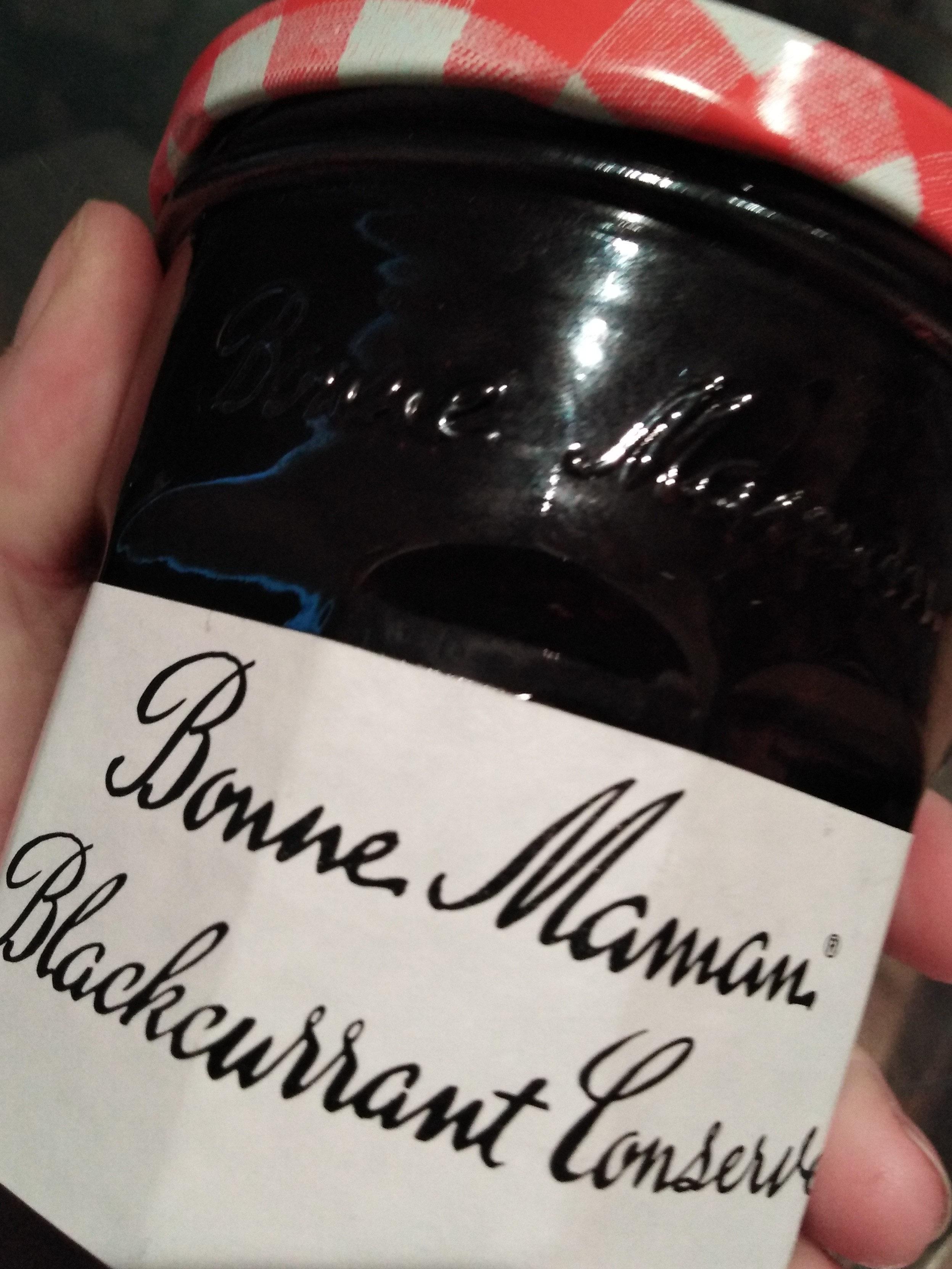 bonne maman Blackcurrant conserve - Product