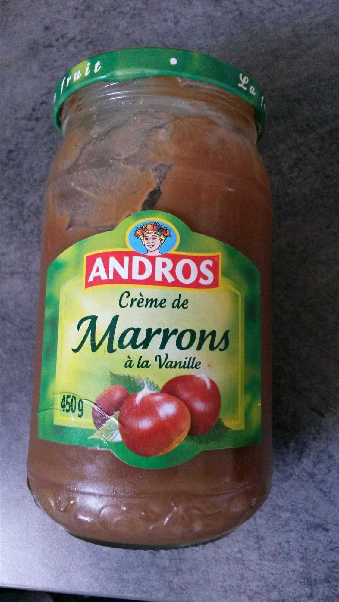 Crème de marron - Produit - fr