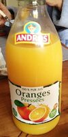 Oranges pressees - Product - fr