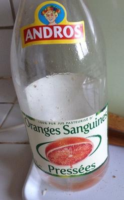 100% pur jus d'Oranges sanguines pressées - Product