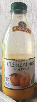 100% pur jus clémentines pressées - Product