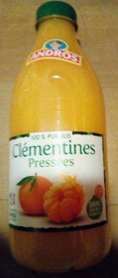 100% pur jus clémentines pressées - Produkt